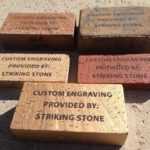 Bricks Various Engraved