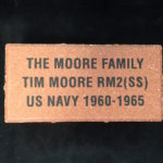 Engraved 4 x 8 Clay Brick