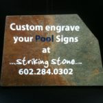 Custom Tile Sign