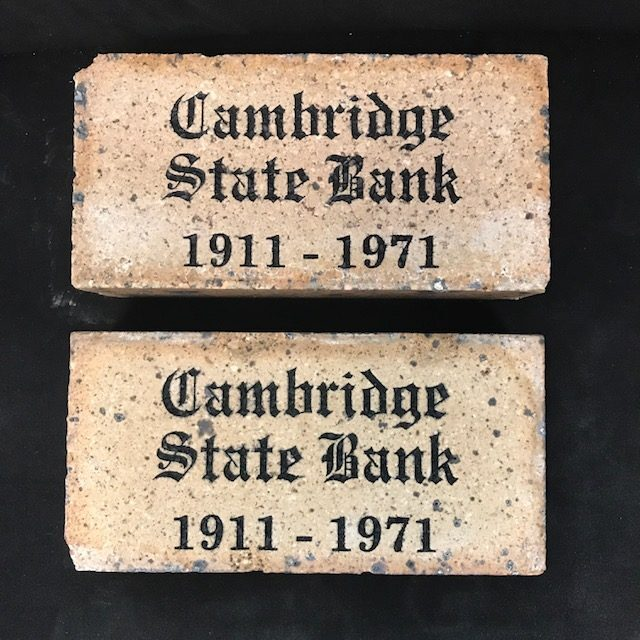 Striking Stone Engraved Vintage Bricks
